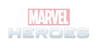 Marvel Heros Design Logo